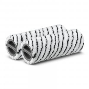 Set valjev iz mikrovlaken, sivi za kamen