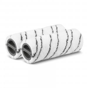 Set valjev iz mikrovlaken, sivi